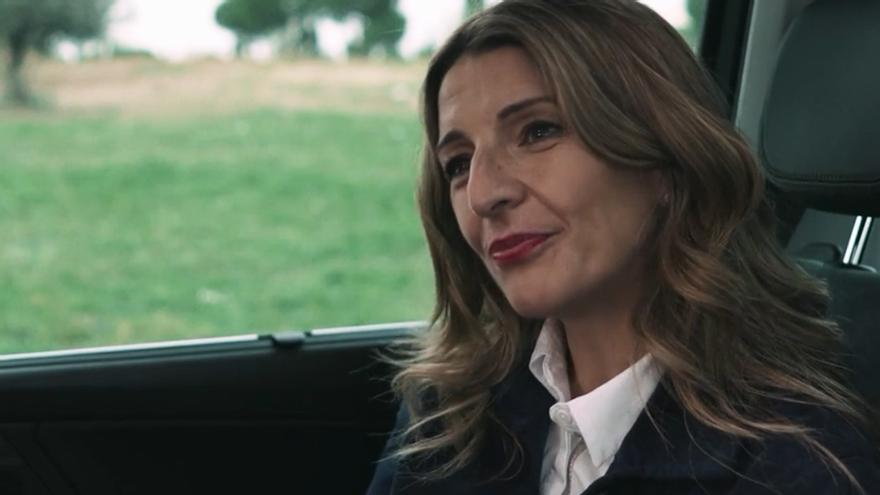 Yolanda Díaz en 'Salvados'