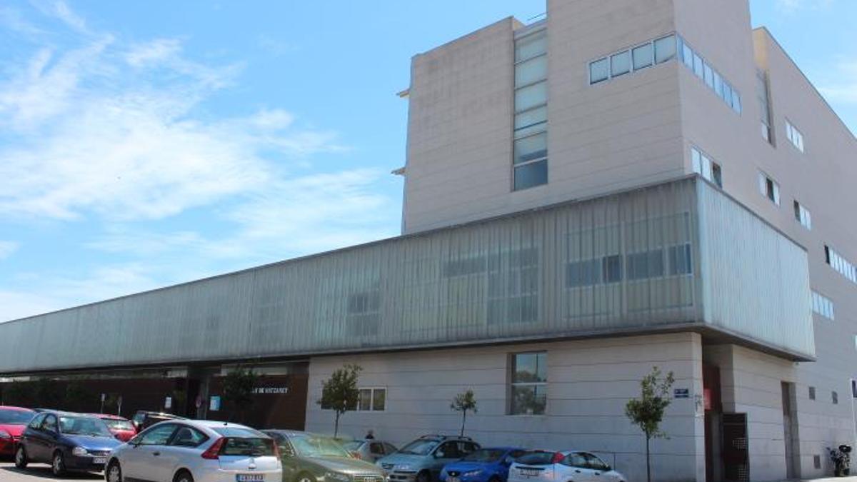 El centro de salud de Nazaret, en València.