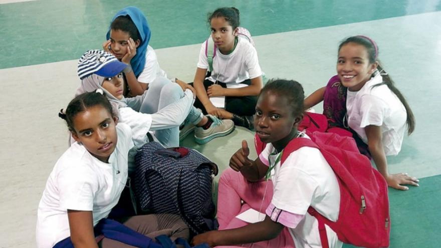 Niños saharauis en Cuenca