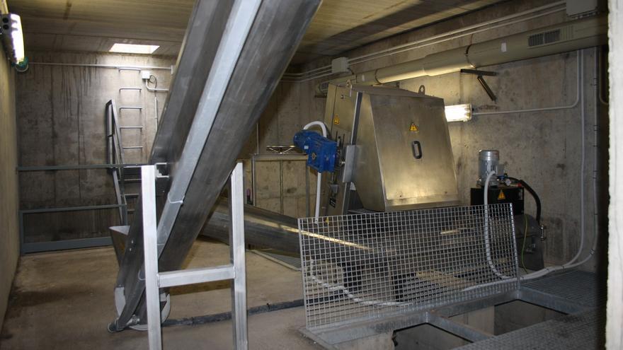 Estación de Bombeo de Aguas Residuales de Santa Santa Cruz de La Palma.