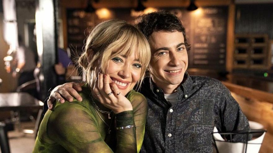 Hilary Duff y Adam Lamberg en una imagen reciente