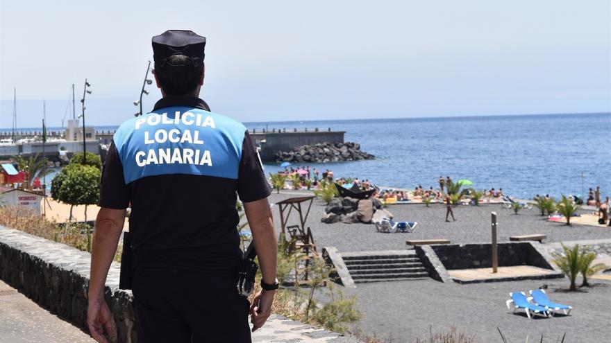 Policía Local Canaria.
