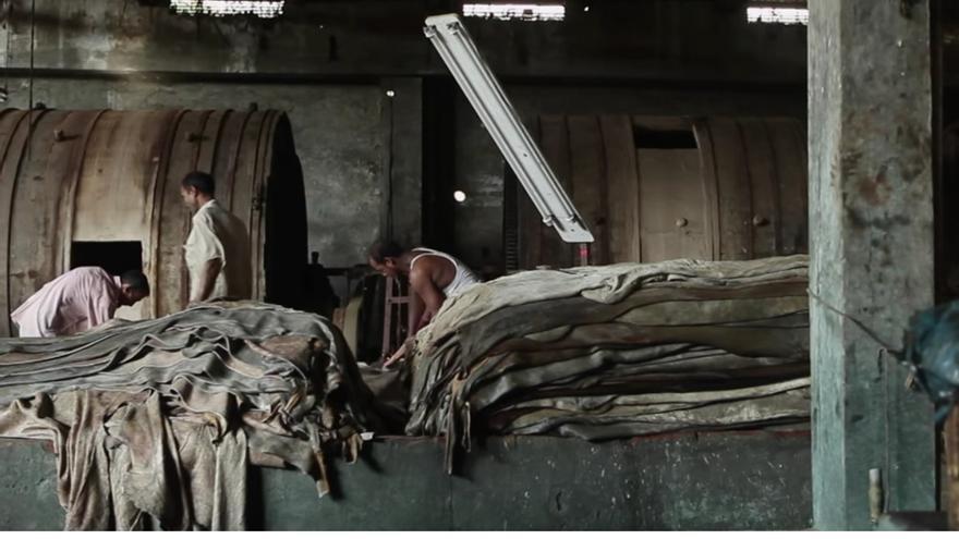 Captura de pantalla del documental Bangladesh: Toxic Tanneries // Human Rights Watch