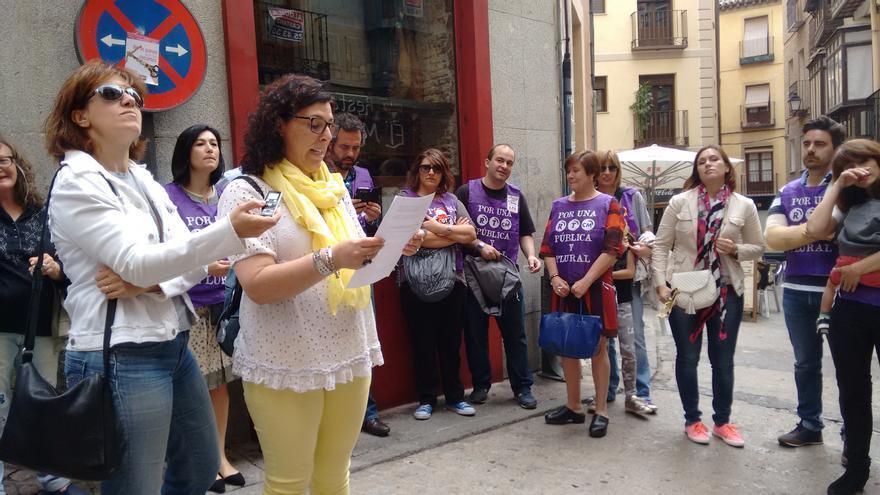 Lectura manifiesto por la Libertad de Prensa en Toledo