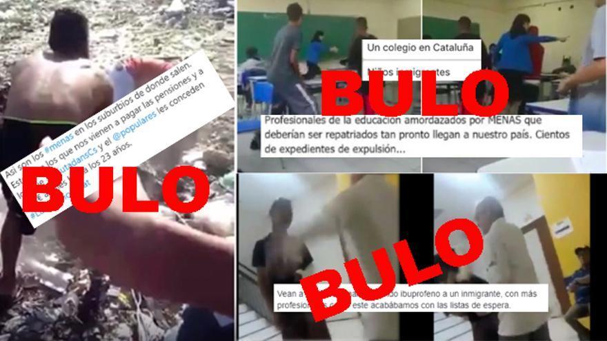 Cómo se desinforma sobre inmigrantes en España con vídeos grabados en Brasil