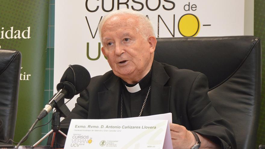 El Cardenal Cañizares ha realizado las declaraciones durante los cursos de verano de la Universidad Católica de València