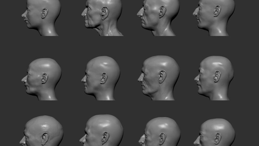Científicos ponen rostro a 40 habitantes prehistóricos de hace 4.000 años
