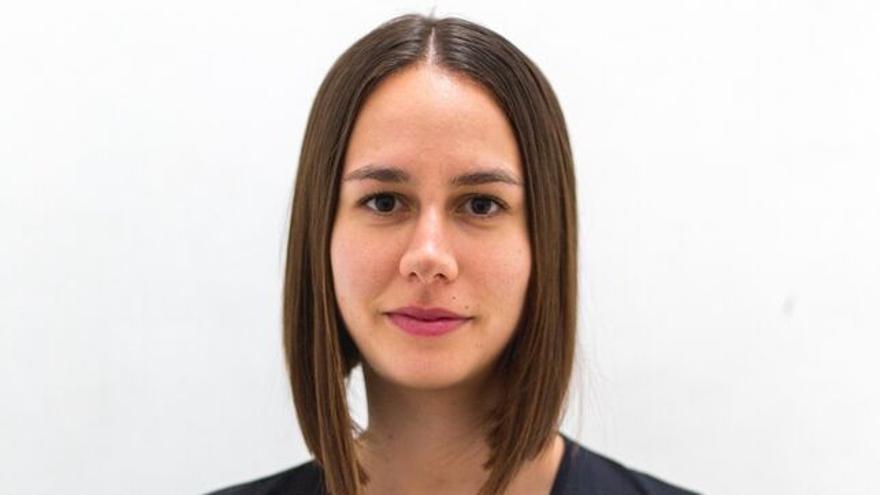 Nuria Espinosa, candidata de los Verdes al Parlamento de Canarias