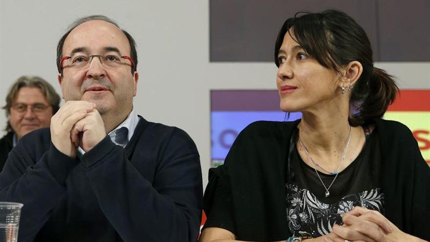 La número dos del PSC ve un error dejar la cuestión catalana solo a PSC y En Comú