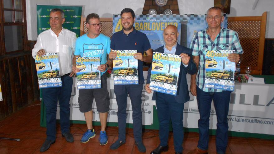 En la imagen, presentación de la 40 Subida a Barlovento.