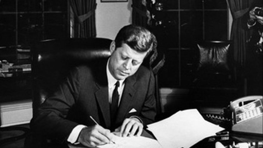 John F. Kennedy, ex Presidente de EEUU