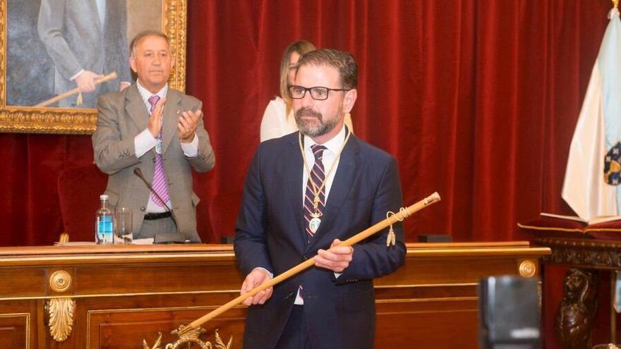 Ángel Mato, nuevo alcalde socialista de Ferrol