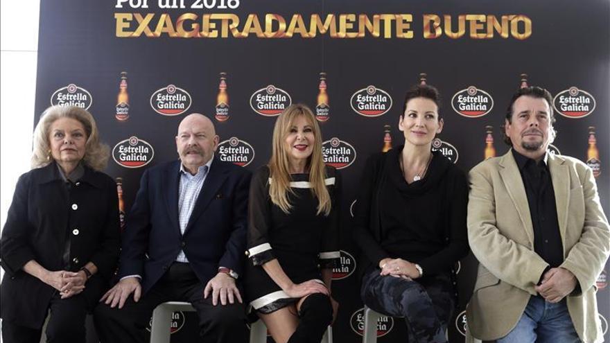Ana Obregón, Mayra Gómez Kemp y José María Íñigo rememoran sus campanadas