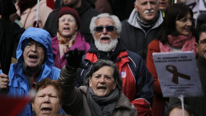 Manifestación por las pensiones, este sábado en Madrid