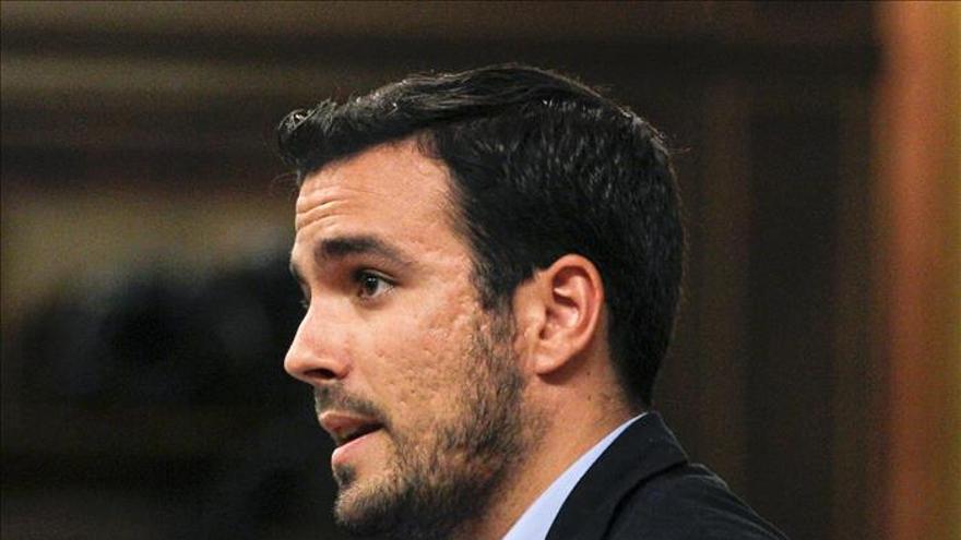 Alberto Garzón, en una imagen de archivo.