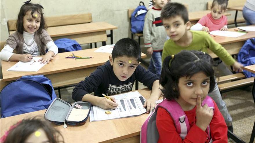 El 70 % de los refugiados en Líbano vive bajo el umbral de la pobreza, según la ONU
