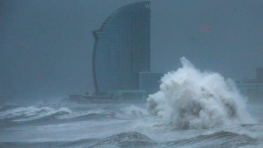 Andalucía, Baleares y Cataluña en aviso naranja o amarillo por viento fuerte