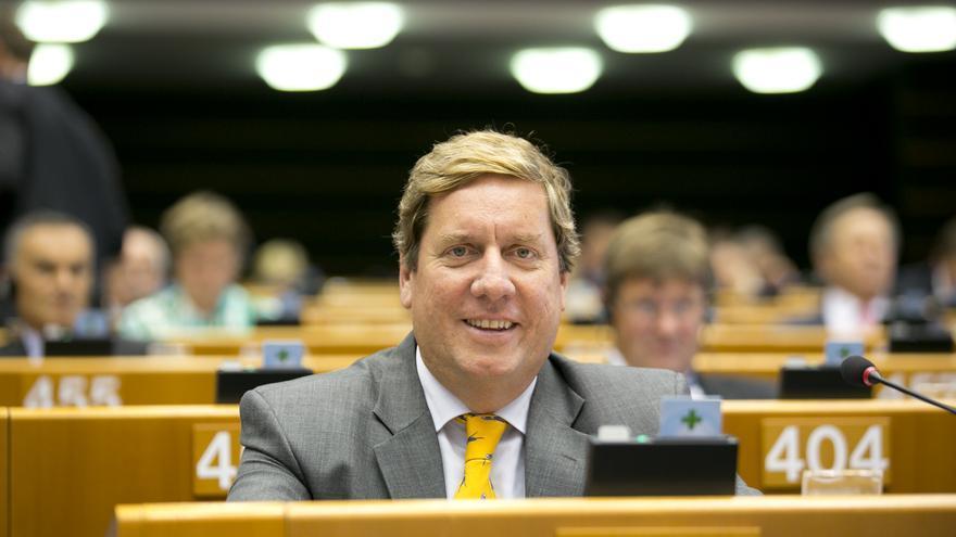 Gabriel Mato, eurodiputado canario del PP y miembro de la Comisión de Pesca  del Parlamento Europeo.