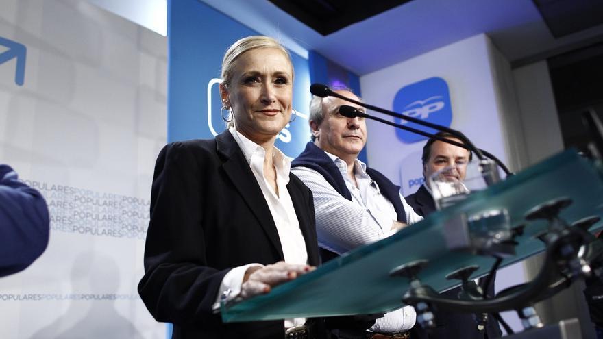 """Cifuentes no se plantea """"ni por asomo"""" suceder a Aguirre en el PP de Madrid"""