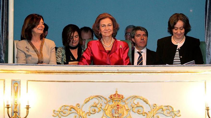 Doña Sofía preside un concierto conmemorativo del nacimiento de Carlos III