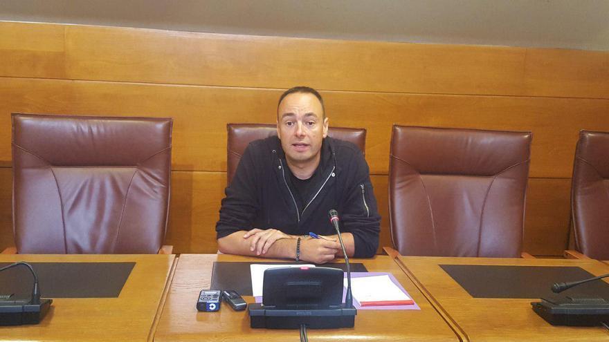 José Ramón Blanco durante la rueda de prensa.