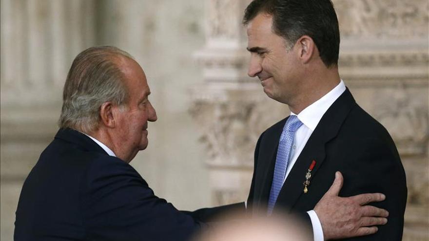Juan Carlos I sintió dolor, satisfacción y orgullo en el día de su abdicación