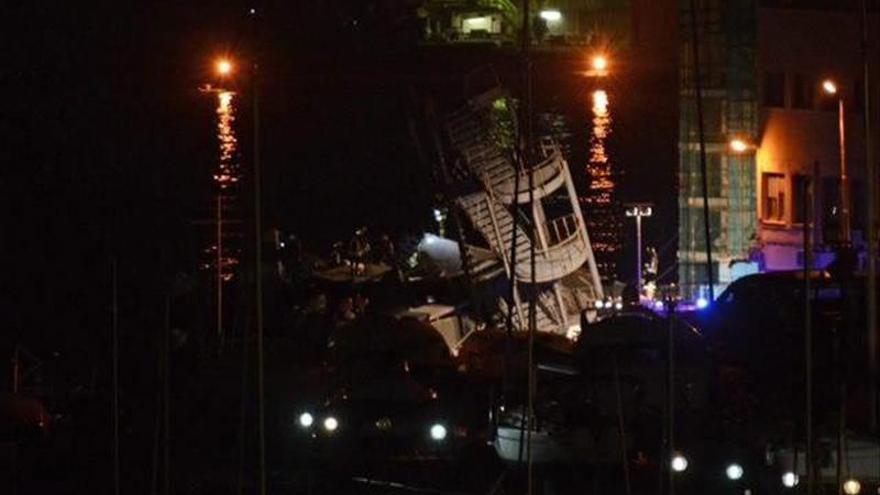 Tres muertos y varios desaparecidos en el accidente de un barco en el puerto de Génova