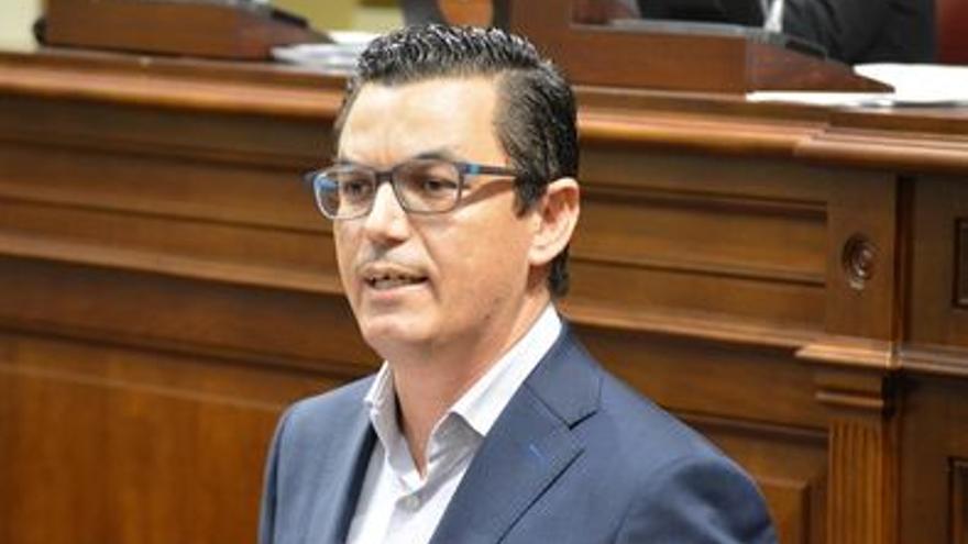 Pablo Rodríguez, vicepresidente del Ejecutivo canario y consejero de Obras Públicas