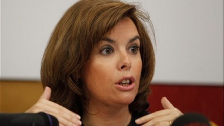 Soraya Sáenz De Santamaría, Portavoz Del Grupo Popular En El Congreso