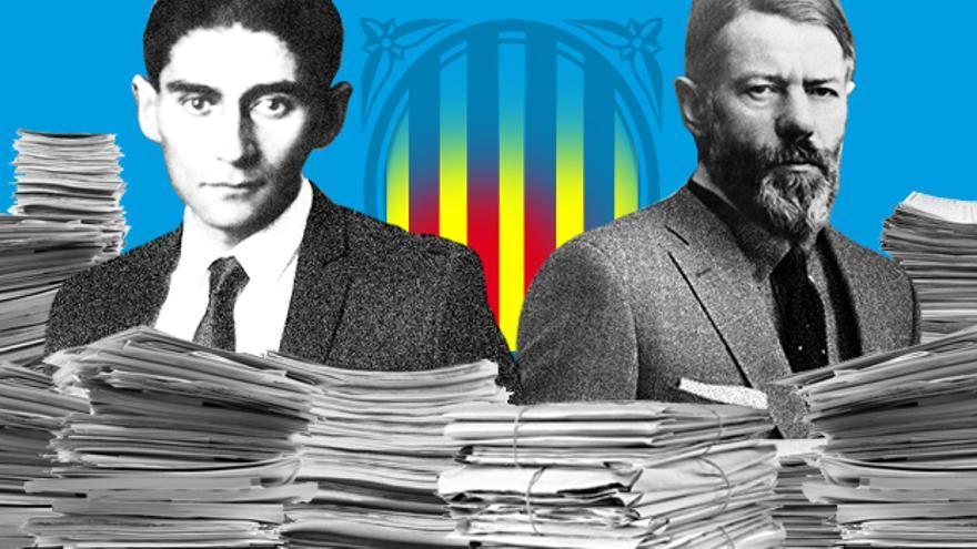 Nova política o retorn als clàssics Kafka i Weber? (Foto: Jaume Badosa)