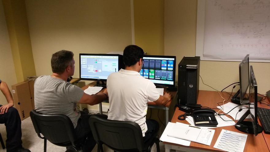 El simulador es el primero que se instala en una central diésel de un sistema eléctrico aislado y permite ensayar el funcionamiento de los grupos ante diferentes escenarios.