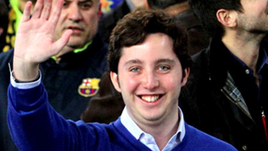 El Pequeño Nicolás, cazado en el Camp Nou viendo el Barça - Madrid