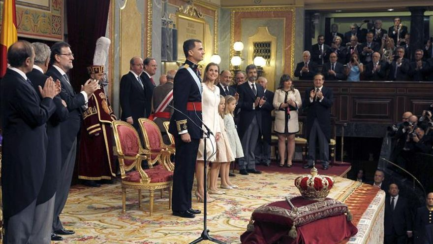 El Rey Felipe VI recuerda a las víctimas de la violencia terrorista