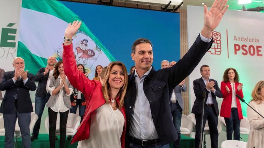 Díaz, proclamada candidata a la reelección con el respaldo de Pedro Sánchez