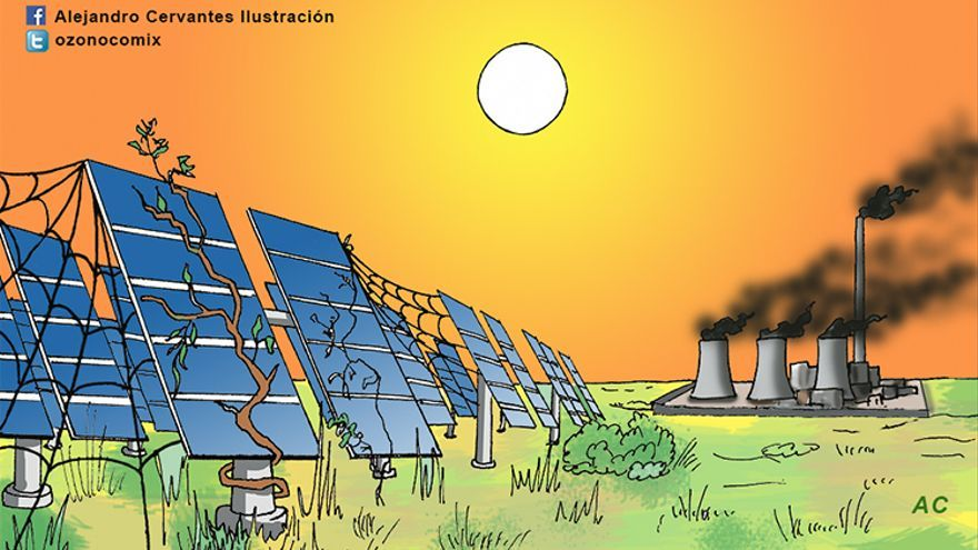Malos tiempos para las renovables