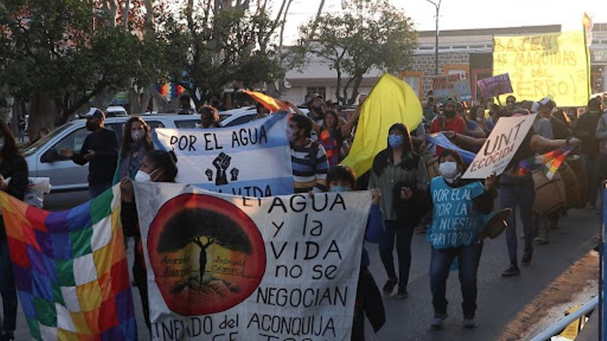 Andalgalá: crónica de una lucha que camina desde hace 11 años