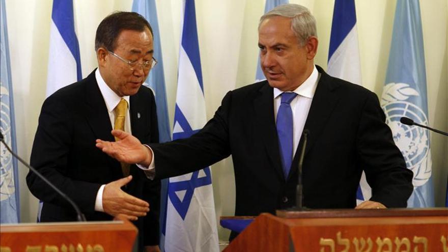 Ban habla con Netanyahu y Abás en medio de la nueva tensión por Jerusalén Este