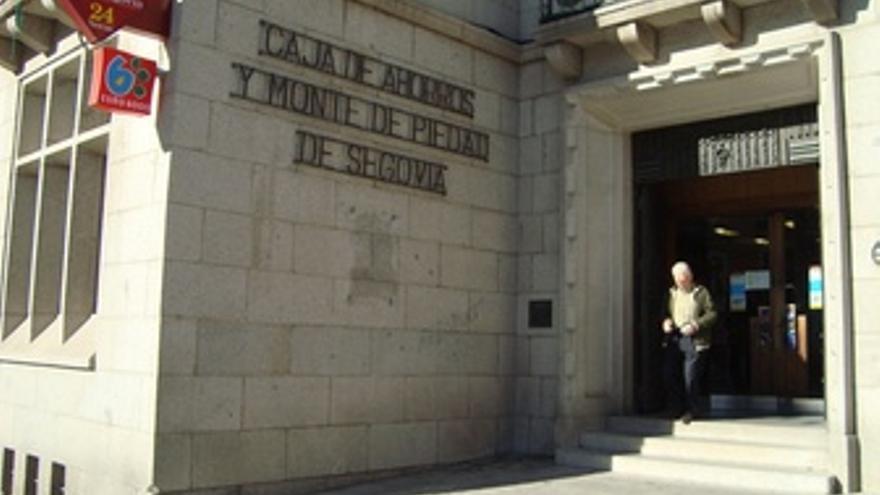 Sede De Caja Segovia En Segovia