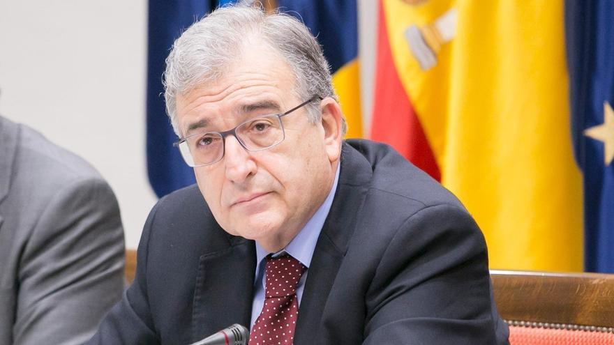 El presidente de la Audiencia de Cuentas de Canarias, Rafael Díaz.