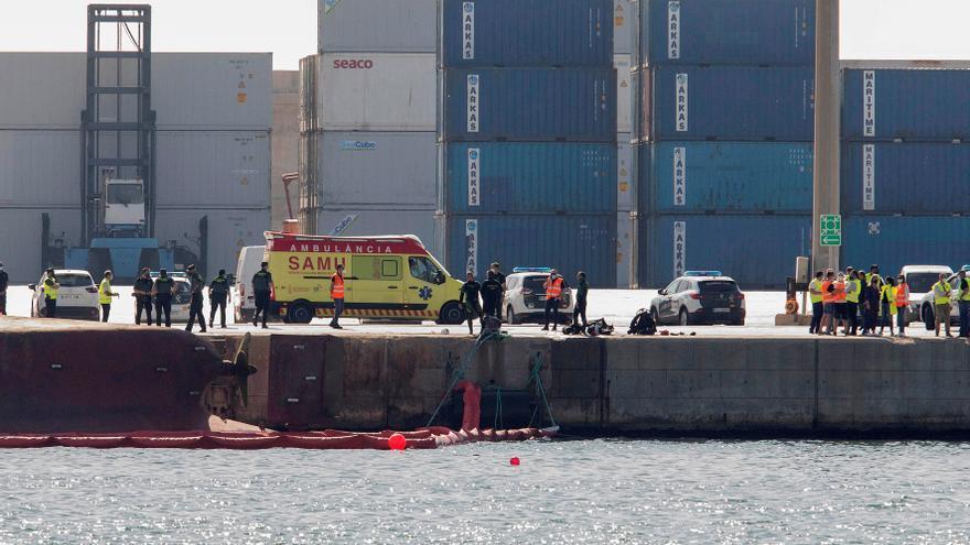El puerto de Castellón sigue cerrado mientras continúa la búsqueda de 2 personas desaparecidas