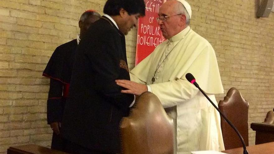 El papa recibirá en audiencia a Evo Morales el próximo 15 de diciembre
