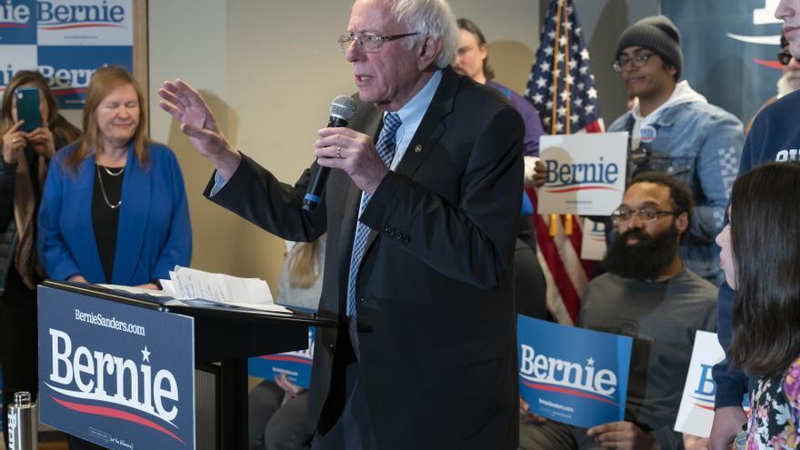 Bernie Sanders gana las primarias demócratas en Nuevo Hampshire