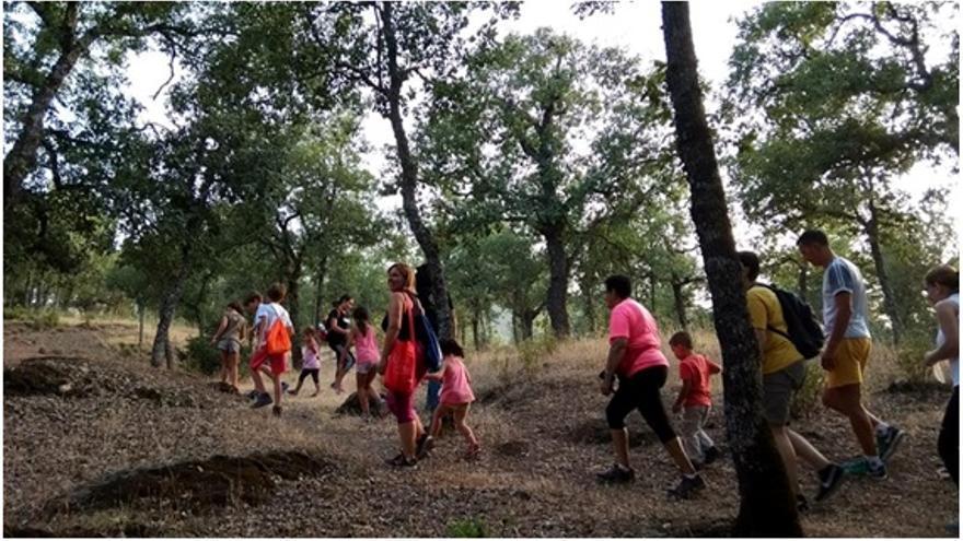 'El bosque de las huellas', ruta semi-nocturna por el parque natural del Valle de Alcudia