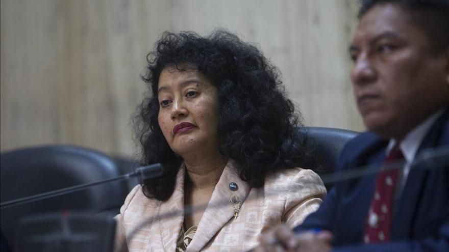 Jazmín Barrios, la jueza guatemalteca que no temió a los militares