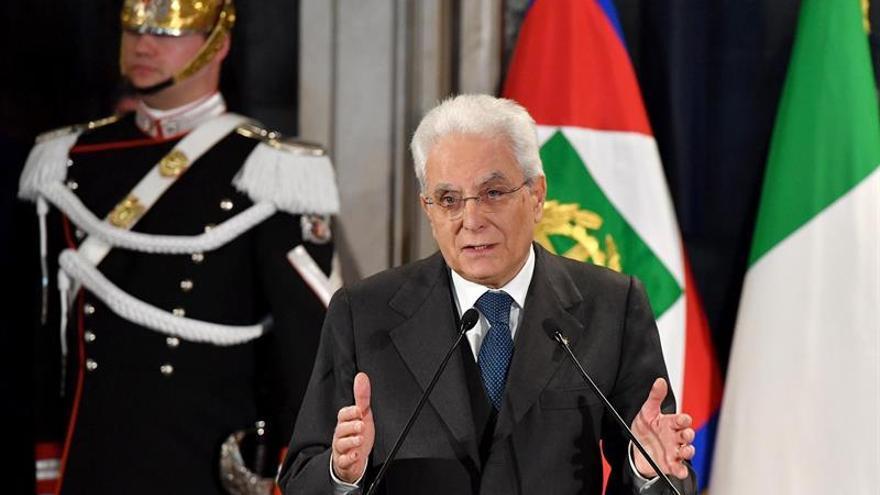 El presidente de Italia condena el ataque de Estocolmo y ofrece colaboración