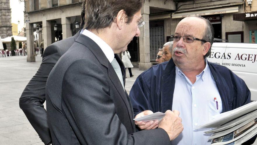 Goirigolzarri respalda en persona la integración de Caja Segovia en Bankia