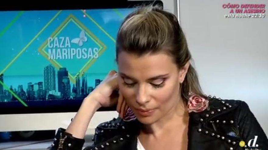 María Lapiedra recuerda su 'relación de 7 años' con un tertuliano de 'Sálvame'