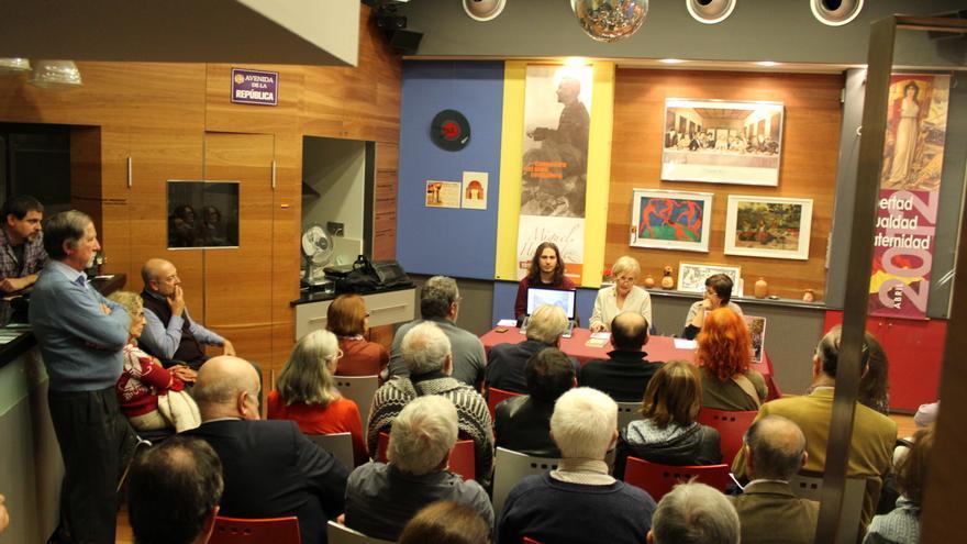 """Presentación en Murcia del libro """"La Nueve. Los españoles que liberaron París"""" / PSS"""