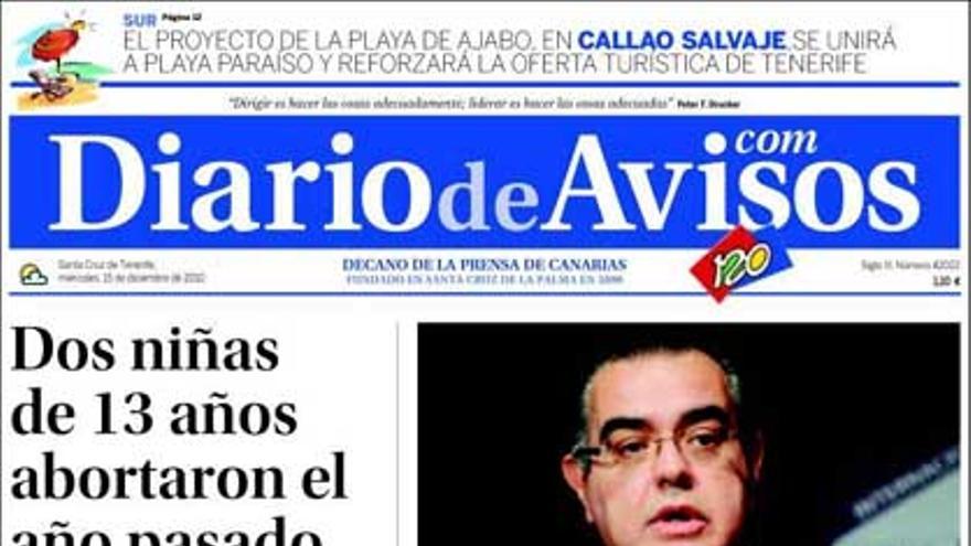 De las portadas del día (15/12/2010) #4