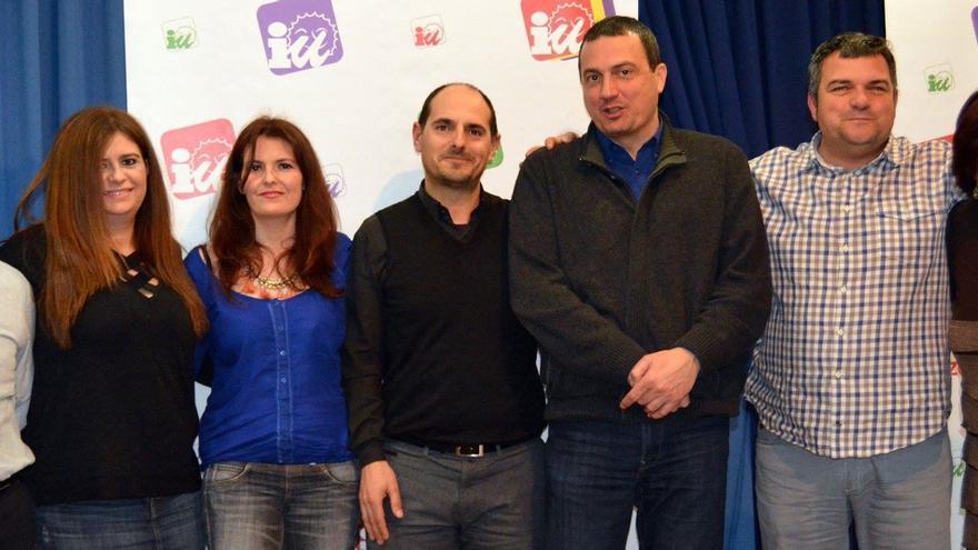 Miembros de la candidatura de IU por el Guadalentín